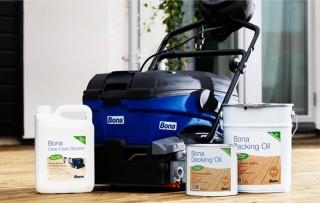 Hloubkové čištění podlah a teras