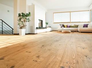 třívrstvá dřevěná podlaha Woodlink (HDF nosič s dýhou)