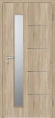 Interiérové dveře Prüm Royal- Royal: 154-LA2-S CPL Touch Dub DA